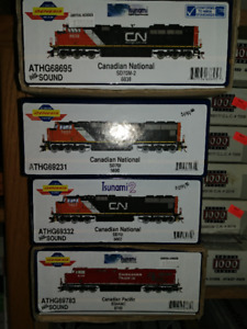 ATHEARNS GENESIS CANADIAN NATIONAL SD70M-2