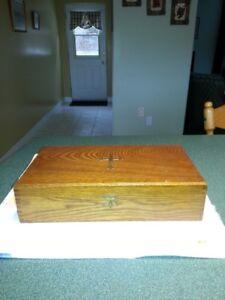 Antique Last Rites Religious Box