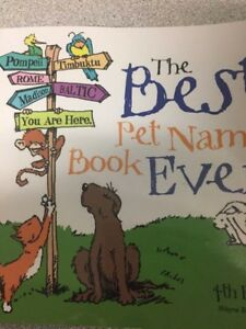 The Best Pet Names ever Book