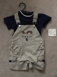 NWT Detroit Tigers Major League Baseball Outfit 6/9M London Ontario image 1