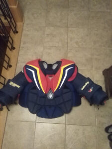 Vaughn chest protector pro stock