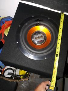 10 inch boss sub in a non ported box