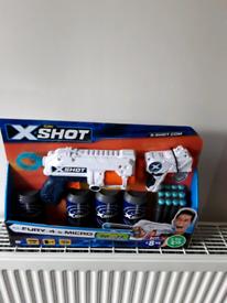 X shot 8 year old