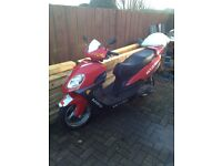 Skyjet 125cc scooter, 2007, no test, for repair