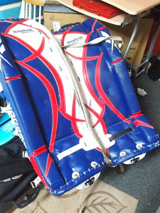 Blue and Red Goalie pads 29+1