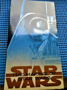 Star Wars The Making of Star Wars VHS NEW SEALED RARE MOVIE