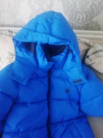 Padded coat age 12