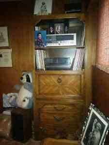 76 in high shelf/bar unit Kitchener / Waterloo Kitchener Area image 1