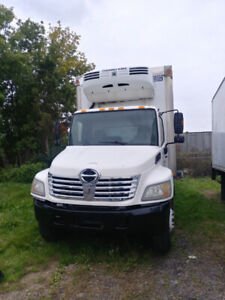 2007 hino Reefer -LOW KM - Safety Certified and Emission