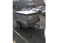 Daxara 198 tipper trailer with extension sides
