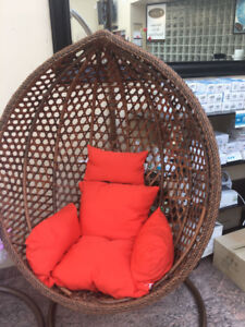 brand new Patio Swing Chair with Stand and Cushions $399