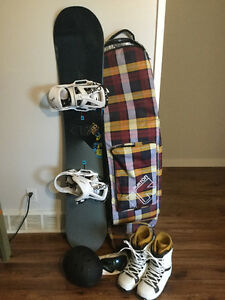 Burton Process Flying V with bindings