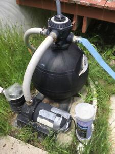 Swimming Pool Sand Filter & Pump