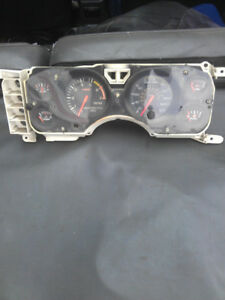 1979-86 Mustang GT Cluster 7,000 Tach and 130 MPH Speedo (USED)