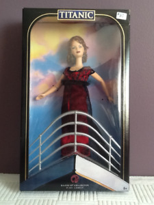 Barbie collector doll TITANIC edition mint! NRFB!