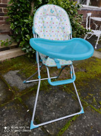 High chair FREE TO COLLLECT