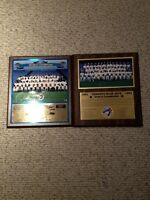 1991 and 1992 Blue Jay's World Series Plaque