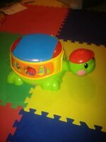 Fisher price music and stacking turtle