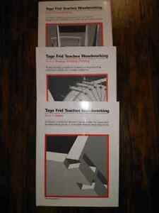 Tage Frid Teaches Woodworking Book 1,2 and 3