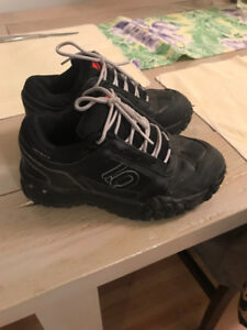 Boys 5-10 impact mountain bike shoes. $50