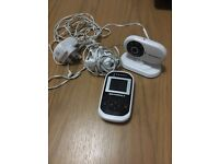Motorola MBP18 video baby monitor