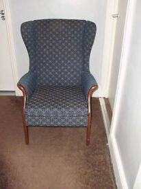 Parker knoll model MPK 750 wingback chair good condition