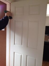 6 panelled doors £49.99 fully fitted 36 years experience