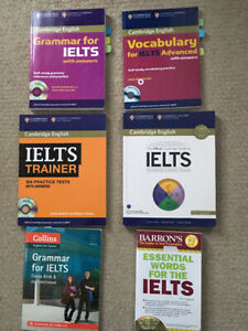 IELTS books cambridge and other