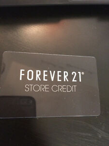 Forever 21 Gift Card of $95 London Ontario image 1
