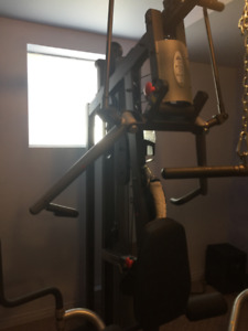Like New, Recently Serviced Home Gym