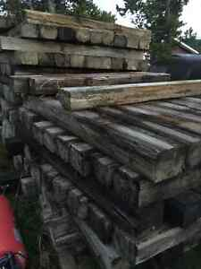 "6""x8""x 6 Foot Pressure Treated Ties Only 7.50 Each"