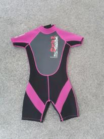 Girls 3/4 wetsuit