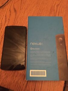 LG Nexus 5 For Sale (black) Kawartha Lakes Peterborough Area image 1