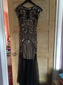 Prom dress, 1920's style size 6