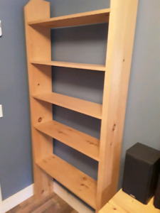 Pine shelving unit for sale
