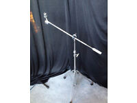 Percussion Plus Ride Cymbal stand with adjustable boom