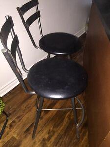 Bar chairs - Chaises de bar