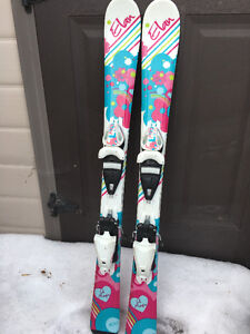 Elan Lil Magic - Skis with bindings 100cm