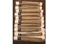 Polythene decorators dust sheets
