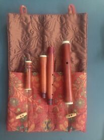 Traverso (Flute) in Rosewood Rottenburgh (1703-1768) / 415Hz