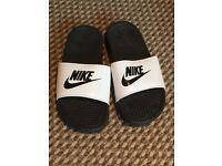 Nike flip flops used once