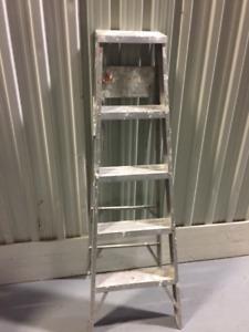 Echel 5' pied aluminium -5' ft aluminum lader