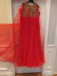 Brand New Designer Indian Gown (Wedding, prom dress or Eid, etc)