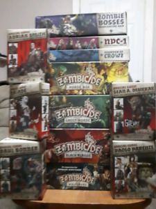 Zombicide Black Plague Green Horde 50% painted