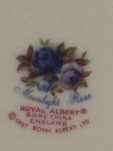 Royal Albert country blue rose Prince George British Columbia image 3