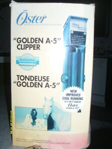 CLIPPER OSTER  GOLDEN A-5 COMMERCIAL.