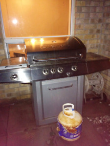 BBQ and outdoor propane heater - free