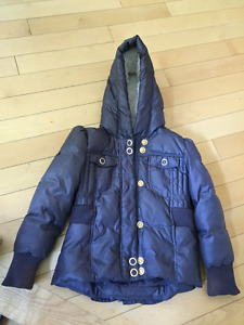 Juicy Couture Down Jacket Size 10