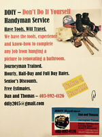 DDIY - Don't Do It Yourself Handyman Services