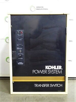 Used 100 Amp Kohler Three Phase Automatic Transfer Switch Gls-166431-0100